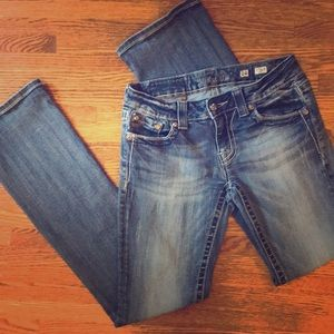 Women's miss me jeans size 28 boot cut